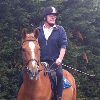 Hotel and restaurant owner in Swindon and Wootton Bassett out horse riding