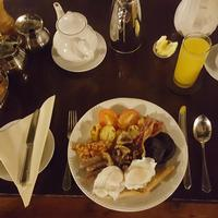 Breakfast at the School House Hotel and restaurant  in Swindon  and Wootton Bassett